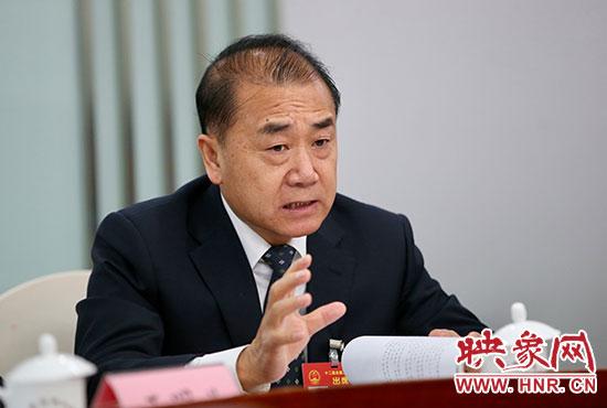 全国人大代表、河南高院院长张立勇
